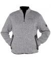 Grijze werkkleding fleece sweater