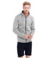 Wintersport grijs fleece vest voor heren